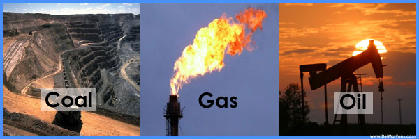 Explain How Coal Oil And Natural Gas Are Formed